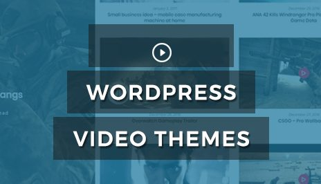 Wordprerss video theme