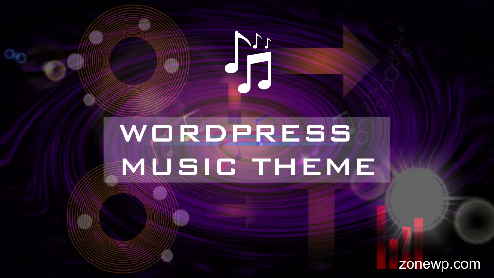 wordpress music theme