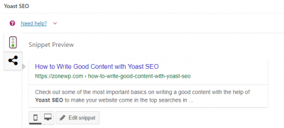 How to Write Good Content with Yoast SEO 1