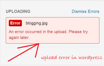 Fix the Image Upload Issue in WordPress