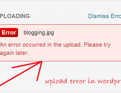 How To Fix the Image Upload Issue in WordPress
