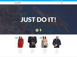 Ocean WP, WooCommerce WordPress Theme