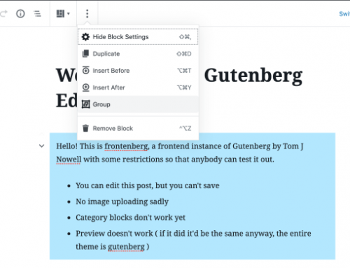 Latest Update To Gutenberg 5.9 Adds Snackbar Notices And More