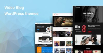 Best Video Blogging WordPress Themes