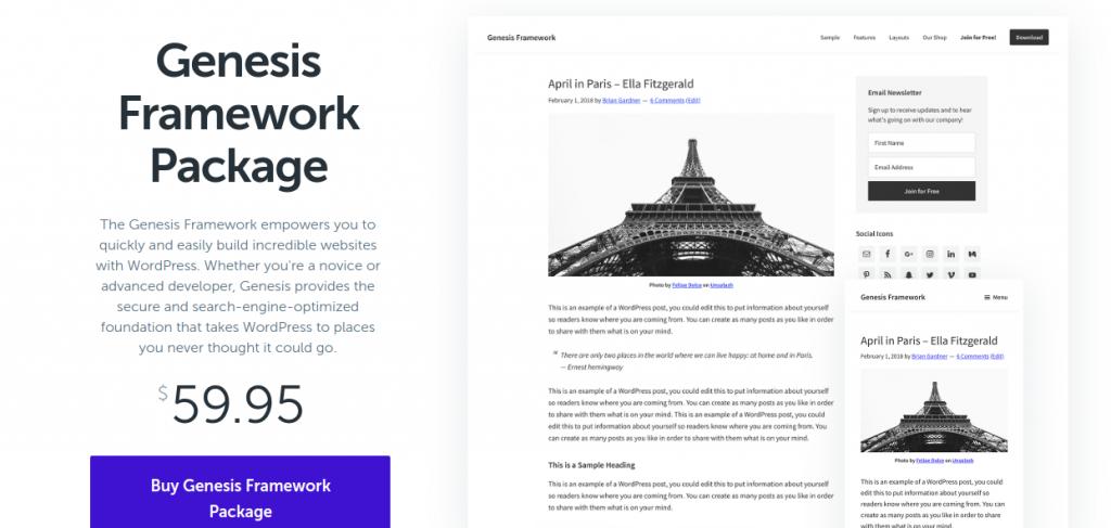 genesis framework - zonewp