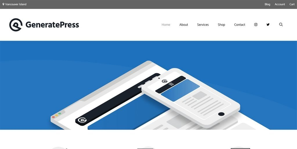 generatepress theme for wordpress - 20 Fastest WordPress Themes 2019