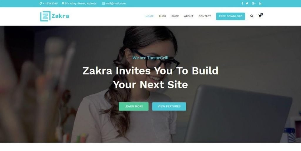 Zakra Theme for WordPress