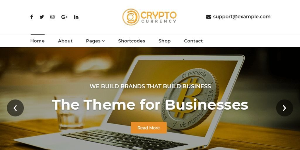 crypto currency exchange theme for wordpress