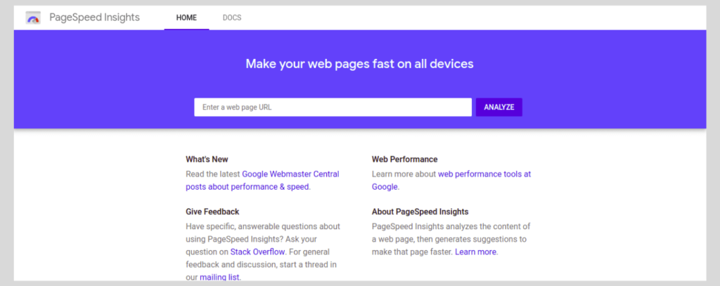 PageSpeed Insight Tool by Google | How to Increase the PageSpeed Score of Your WordPress Website