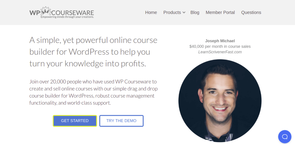 wp courseware - wordpress lms plugins e-learning