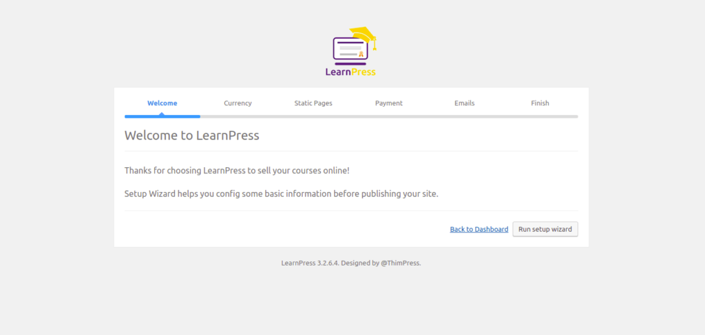 learn press - wordpress e-learning plugins