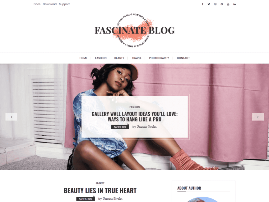 fascinate theme