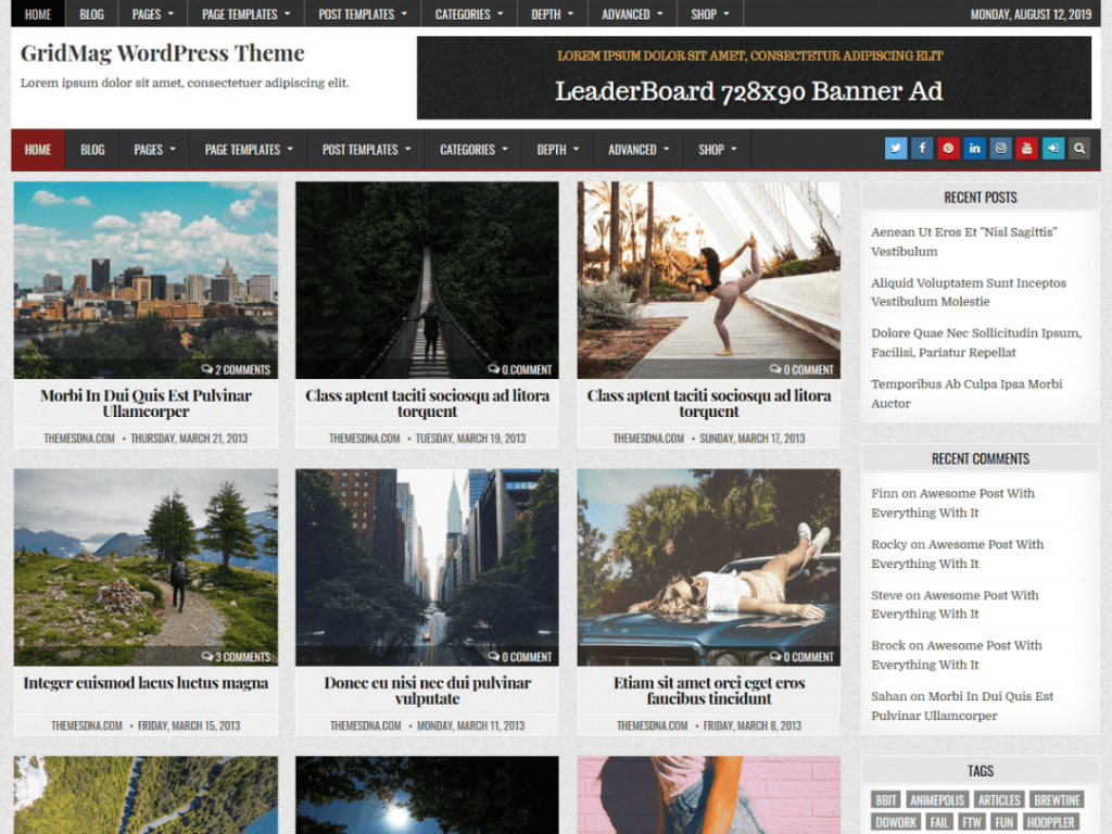 GridMag - Best WordPress News and Magazine Themes