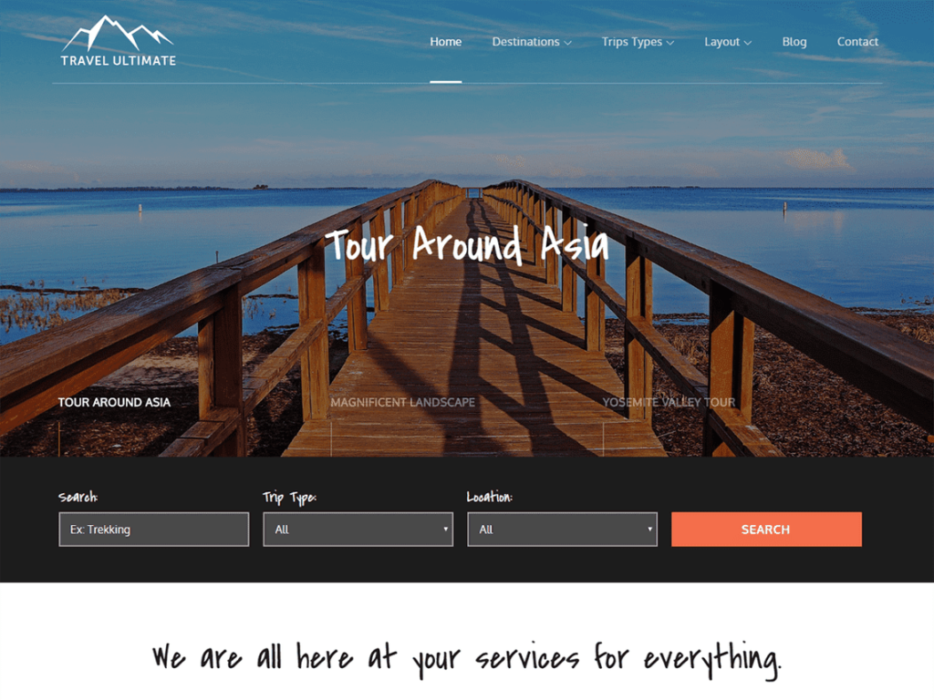 Travel Ultimate - Best WordPress Travel Themes