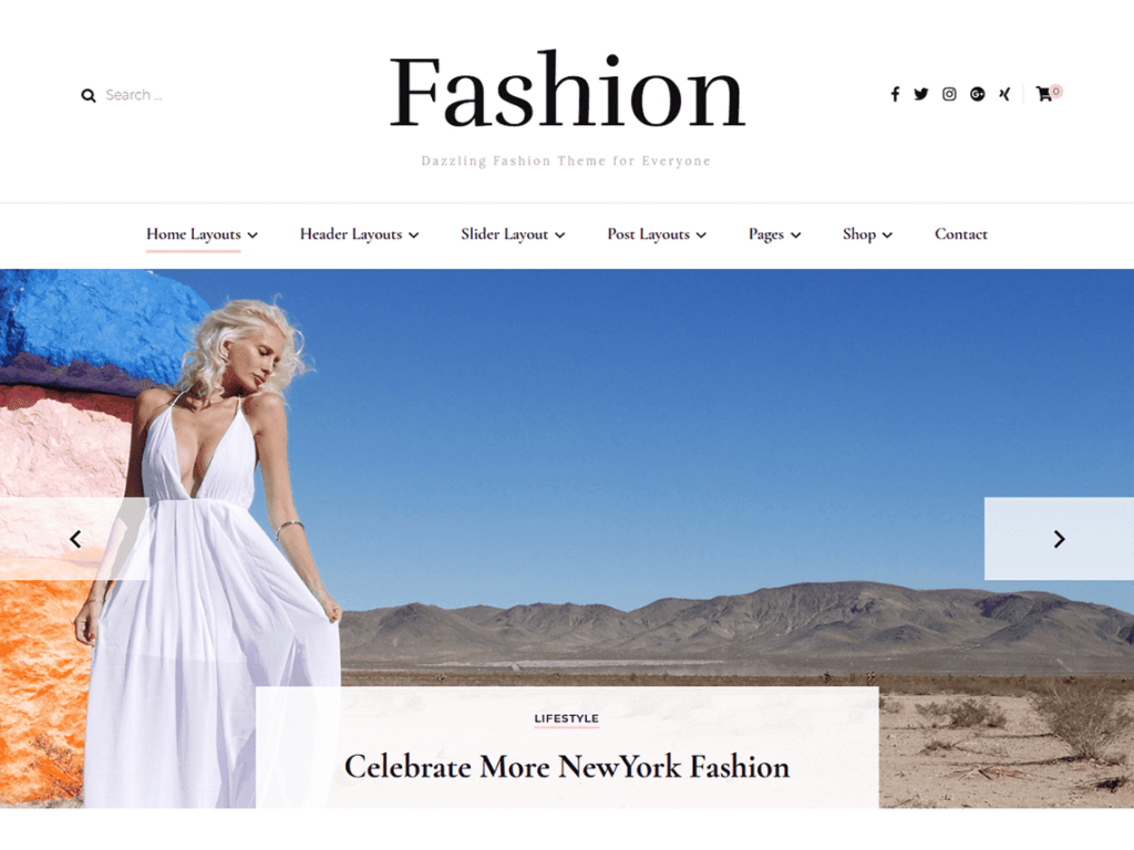 Blossom Fashion - Best Free WordPress Fashion Themes
