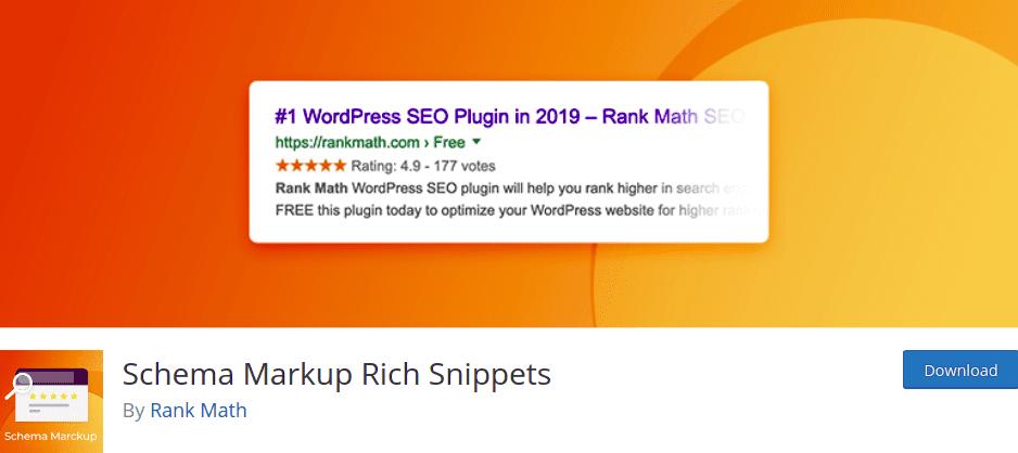 Schema Markup Rich Snippets