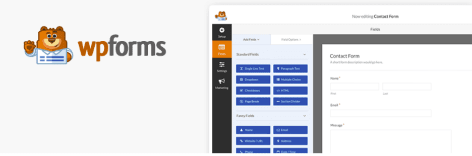 WP Forms, 20 Amazing WordPress Plugins for Bloggers for 2020