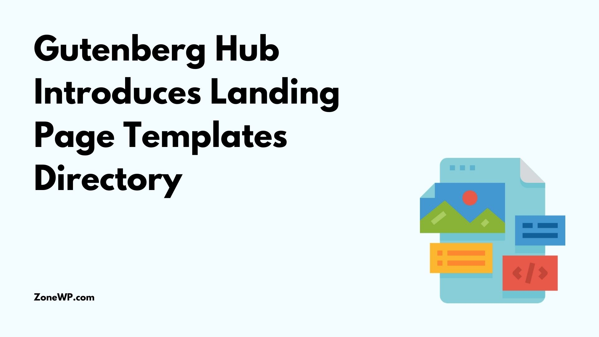Gutenberg Hub Introduces Landing Page Templates Directory
