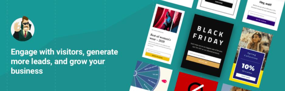 Hustle – Email Marketing, Lead Generation, Optins, Popups