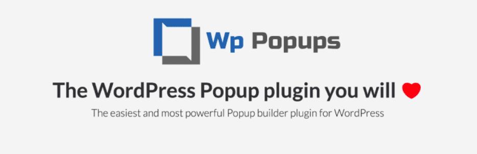 WP Popups – WordPress Popup builder