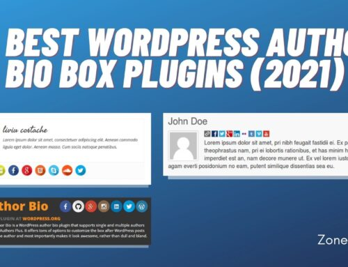 10 Best WordPress Author Bio Box Plugins (2021)