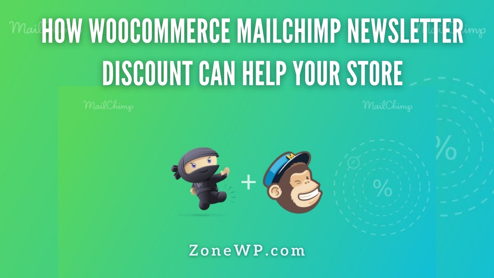 WooCommerce MailChimp Newsletter Discount