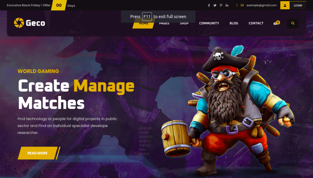 Geco, Gaming Themes