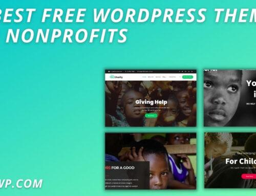 15 Best Free WordPress Themes for Nonprofits