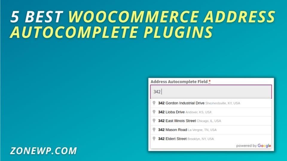 Best WooCommerce Address Autocomplete Plugins