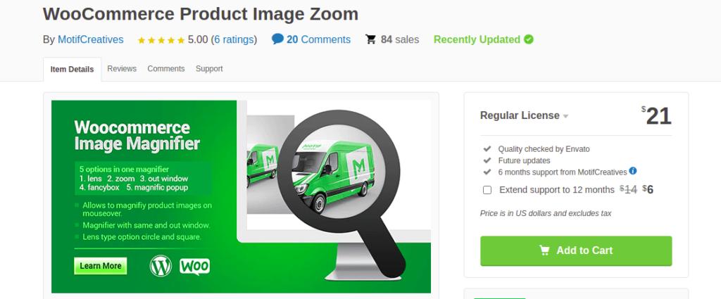 Motif Zoom Magnifier