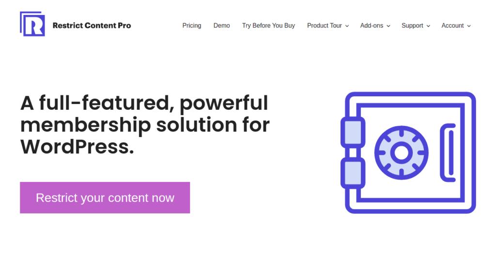 Restrict Content Pro - Subscription Plugins