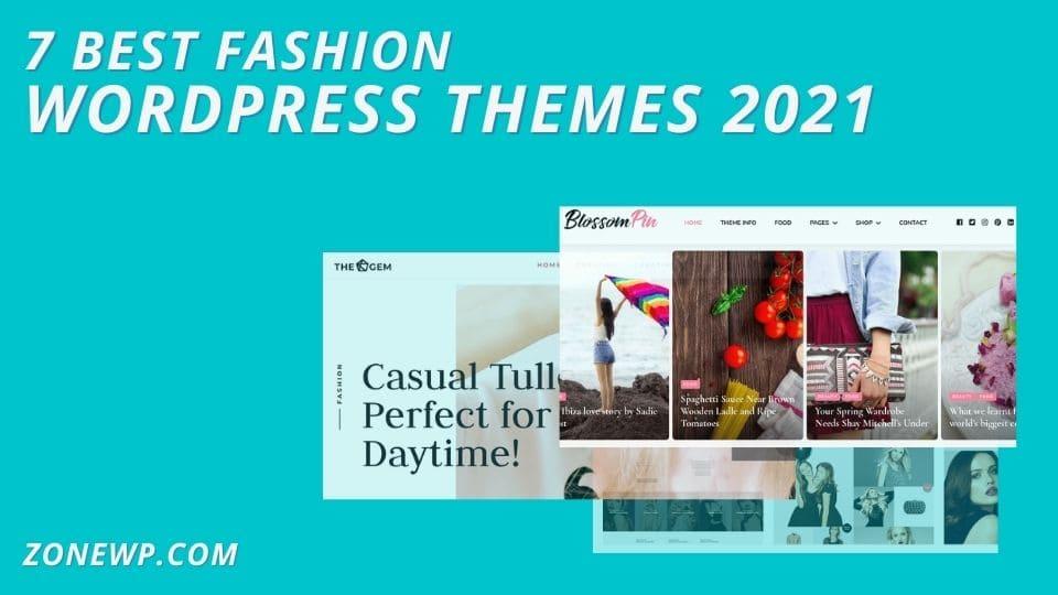 10 Best Fashion WordPress Themes 2021
