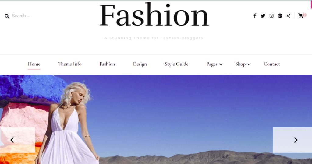 Blossom Fashion,Fashion WordPress Themes